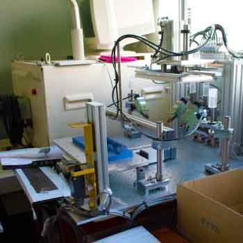 検査用の機械